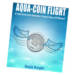 Aqua-Coin Flight by Devin Knight - Trick