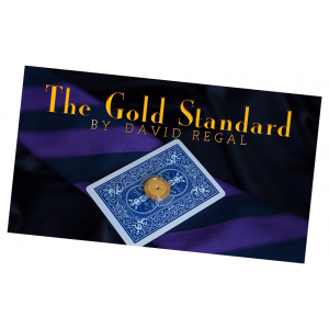 The Gold Standard by David Regal -  TieTack MagicTrick