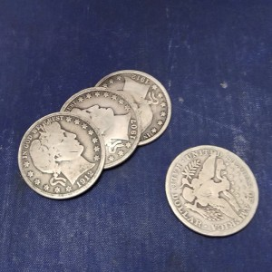 Barber Soft Rededged Coin Set