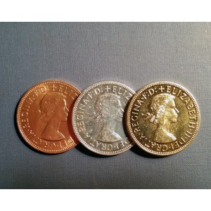 English Penny Set