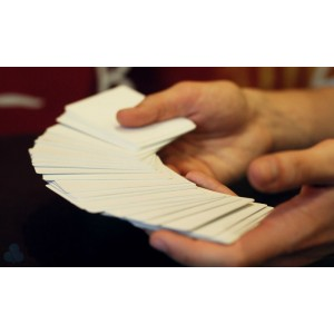 Mental Photography Premium Magic Deck -  Red Bicycle Cards Turn Blank
