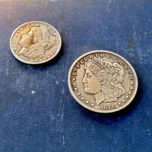 Morgan Dollar - Oversize Coin - Two Ounces of Silver