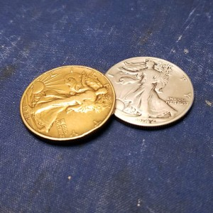 Walking Liberty - Silver and Gold