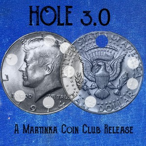 Martinka Presents Hole 3.0 by Ted Bogusta