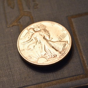 Walking Liberty Squirting Coin - The Cadillac of Practical Jokes!